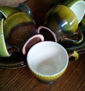 Чашки и блюдца кофейные 6 шт