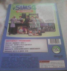 Диск с дополнением для игры Sims4