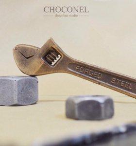 Подарочный набор шоколадных инструментов