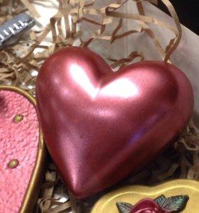 Подарок- шоколадное сердце