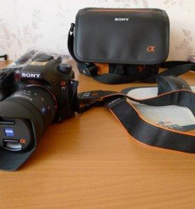 Sony SLT-A77 + объектив Sony Carl Zeiss 16-80 мм