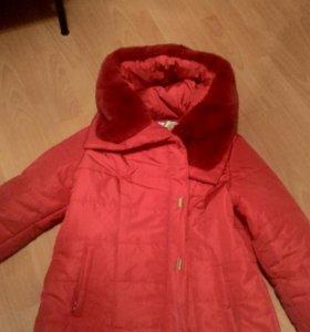 Куртка зима, очень лёгкая и красивая