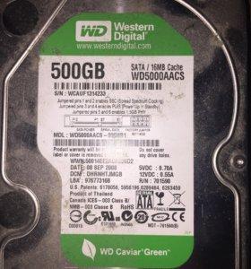WD 500 GB SATA