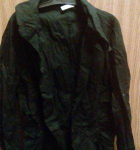 Рубашка черная motivi Италия 42-44 рр