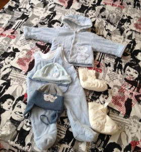 Одежда для малыша 3-5 мес