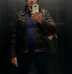 Кожаная куртка Affliction (р48)