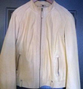 Куртка кожаная женская 52-54