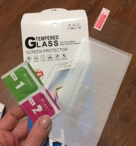 Защитное стекло iPhone 7, 7+
