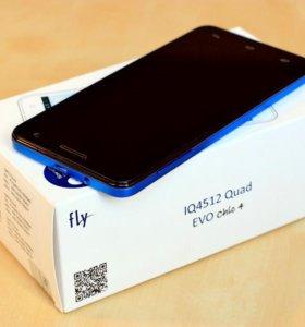 Смартфон Fly IQ4512 Quad EVO Chic4
