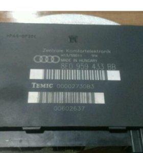 Блок комфорта Ауди А4/Audi A4 8e b6/8EO 959 433 BB