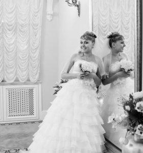 Шикарное свадебное платье-трансформер
