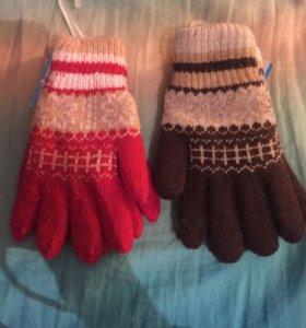 Детские перчатки подростковые