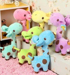 Жирафики (Плюшевые игрушки)