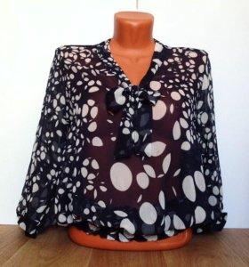 Блуза Натуральный шифон