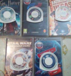 Игровые диски от PSP