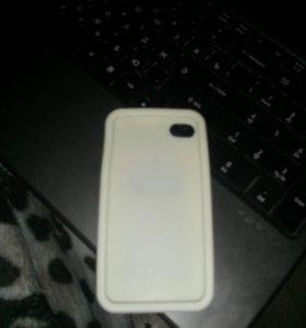 Накладка селиконованная iPhone 4-4s
