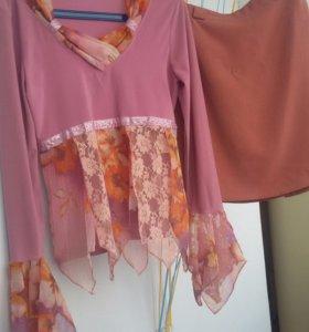 Костюм оригинальный блузка юбка