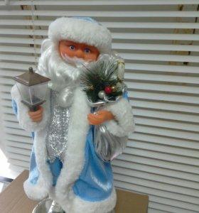 Санта Клаус музыкальный новый