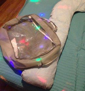Подушка V-образная для беременных