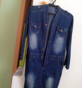 Платья джинсовое