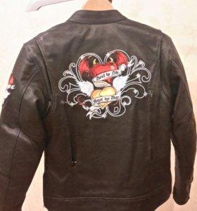 Мотокуртка женская кожаная River Road Angel/Devil