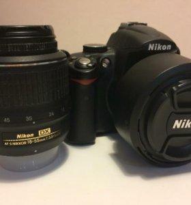Фотоаппарат nikon d5000 с объективом Nikon