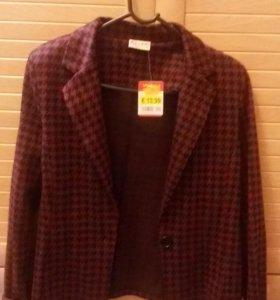 новый пиджак (трикотаж)