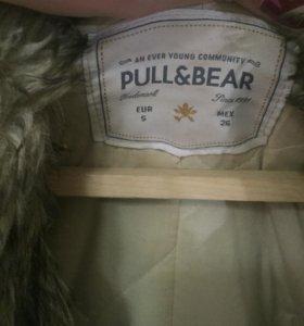 парка pull and bear женская