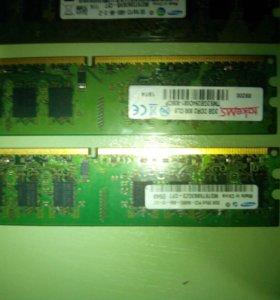 Оперативки DDR2. 6гб