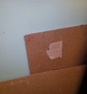 Доски картон для холста и дсп от шкафа