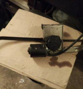 Трапеция стеклоочистителя с мотором ГАЗель