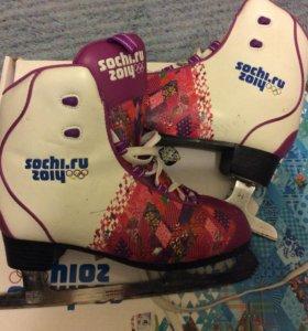 Фигурные коньки sochi2014