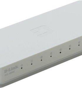 Коммутатор D-Link DES-1008C