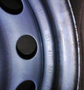 Штампованные диски R16