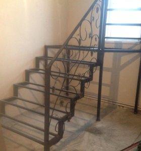 Металло-каркас лестницы