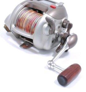 Мультипликатор электрический. Катушка рыболовная.