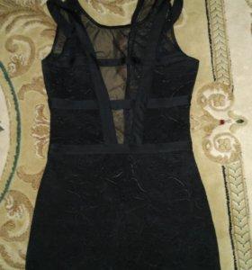 Платье мини, праздничное