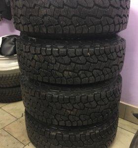 Резина с дисками комплект колёс 235/75 15