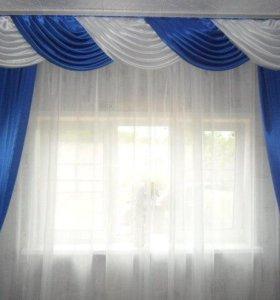 Пошив штор,покрывал,тюли