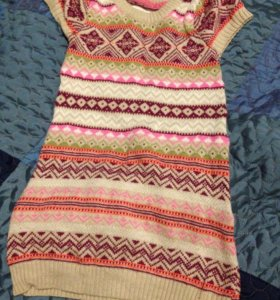 Платье вязаное h&m