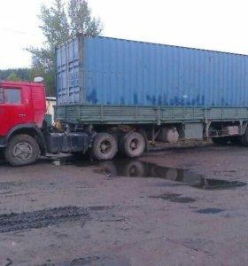 Продам Камаз 5410+полуприцеп Одаз 12 метров