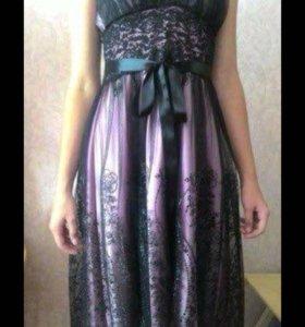 Вечернее платье, размер S, XS