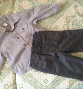 Рубашка и брюки р.68