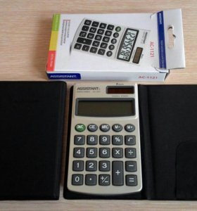 Карманный калькулятор Assistant Green Series