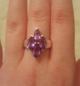 Серебряное кольцо с Аликсандритом