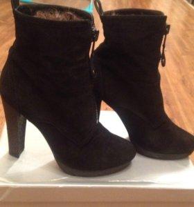 Ботинки зимние, туфли