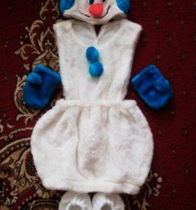 Костюм снеговичка