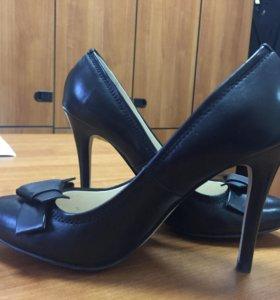 Туфли натуральная кожа. Размер 36