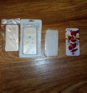 Силиконовые бампера для iphone 5