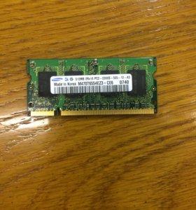 ОЗУ 2х512 mb Acer Aspire 3690